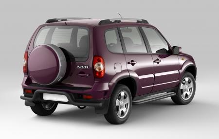 Защита порогов с алюм. площадкой d51мм Chevrolet Niva FL (ППК)
